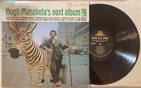 Hugh Masekela's Next Album LP 1966 MGM SE-4415 Afro Jazz Soul Jazz VG+/VG