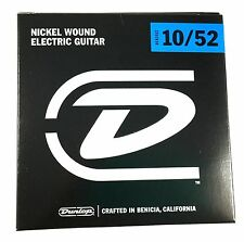 Dunlop Guitar Strings - Electric - 10-52 - Nickel Plated Steel