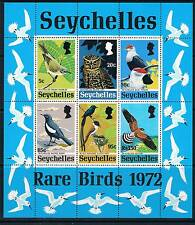 Seychelles 1972 Rare Birds MS  SG 314 MNH