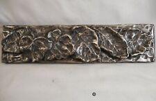 Nickel/Silver Falling Leaves Liner Bar by Metal Tile Arts Manufacturing