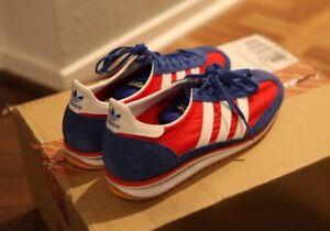 ADIDAS Originals SL 72 Lotta Volkova Red Blue & White FV6612 Sneakers Trainers