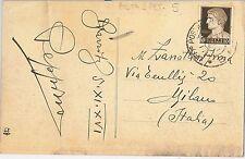 ITALIA REGNO storia postale - annullo POSTA MILITARE :  Ufficio Posta Speciale 5