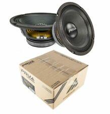 """2x PRV Audio 8MB450-4 8"""" Midbass Woofer 4 Ohms 450 Watts Car Audio"""