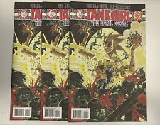 IDW: TANK GIRL: THE ROYAL ESCAPE #4: 3-COPY LOT: NM CONDITION: REGULAR COVER