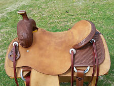 "18"" Spur Saddlery Ranch Cutting Saddle (Made in Texas)"