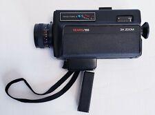 Vintage Rare Sears Super 8 Camera 155  Video Camera 3x 11mm-33mm Zoom Free Ship