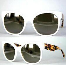 Prada Damen Sonnenbrille SPR10R 7S3-1X1 57mm weiß 151 6