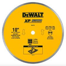 DEWALT 10 in Diamond Circular Saw Blade Cutting Power Tool Wet Dry Ceramic Tile