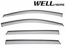 WellVisors Side Window Visors W/ Black Trim For 14-15 Mercedes Benz W246 B-Class