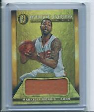 Markieff Morris 2014-15 Gold Standard *White Gold Jersey* NBA /49