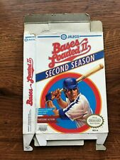Bases Loaded II Second Season Baseball NES Nintendo Empty Box Only