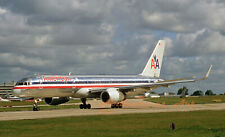 "American Airlines Boeing 757-223 at MAN in July 2007  8""x12"" Color Print"