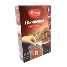 Uvelka Buckwheat Groats Extra 5x80g Pack of 3 Organic Food Крупа Гречнева�