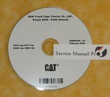 XEBP8508 Caterpillar D5N Track-Type Tractor XL, LGP Parts Manual Book CD