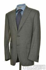 CANALI Current 1934 Gray Houndstooth PEAK LAPEL Wool Jacket Pants SUIT - 42 L