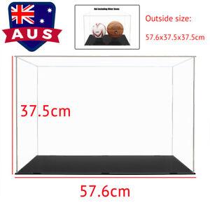 AU Large Acrylic Display Case 56cm L Clear Perspex Box Plastic Dustproof Figures