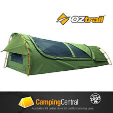 Oztrail Mitchell Expedition Single Swag Green
