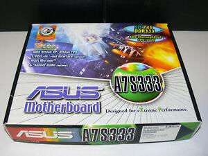 ASUS A7S333 Motherboard Mainboard für AMD ATHLON XP Sockel 462 Neu