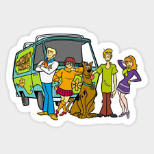 Scooby Doo Mystery Machine Van Vinyl Decal Wall Decal Room Phone Car Sticker