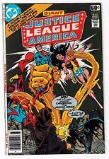 JUSTICE LEAGUE OF AMERICA #152 (NM-) Aquaman! Batman! Wonder Woman! Red Tornado!
