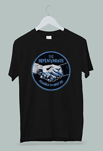 The Replacements Alternative Punk Rock Band Pleased To Meet Me T-Shirt S-2XL