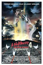 A NIGHTMARE ON ELM STREET 4: THE DREAM MASTER  (1988)  ORIGINAL ROLLED ONE-SHEET