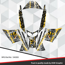SLED WRAP DECAL STICKER GRAPHICS KIT FOR  REV  SNOWMOBILE 03-07 custom SA0303