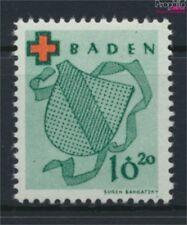 Franz. Zone-Baden 42A neuf avec gomme originale 1949 Rouge Cross (9048963