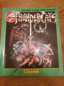 1986 Panini Thundercats Sticker Album No Poster