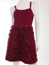 Alannah Hill My Fleeting Love Silk Red Frock Size 10