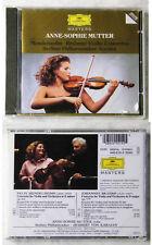ANNE-SOPHIE MUTTER Violin Concertos .. Deutsche Grammophone Masters CD OVP/NEU