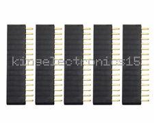 10PCS 2.54mm Header 15Pin Single Row Female Pin Socket connector NEW