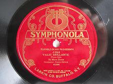 78rpm MANA ZUCCA Piano - Valse Brillante (Zucca) - RARE Acoustic Symphonola