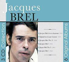 Jacques Brel - 6 Original Albums [CD]