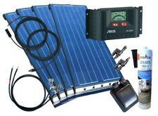 400 Watt Wohnmobil Camping Solaranlage BLACK mit Steca, 12 Volt SET