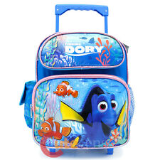 "Finding Dory School Roller Backpack 12"" Wheeled Rolling Bag"