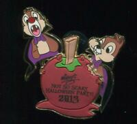 WDW MNSSHP Halloween Party 2013 Chip and Dale LE Disney Pin 98012