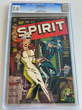 Spirit #20 CGC 7.0 Cream To OW Pages Quality Comics 1950