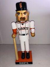 San Francisco Giants  Baseball Wooden Nut Cracker Figurine 2005 Kurt Adler