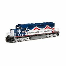 Athearn 71629 HO Union Pacific United Way Sd40 #3300 W/ DCC & Sound