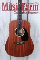 Martin DJr-10 Sapele Top Dreadnought Junior Acoustic Guitar with Gig Bag