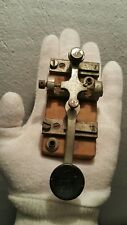 VINTAGE Morse Telegraph Military Code Key STRAIGHT HAND MADE RUSSIA DDR GDR