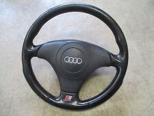 S6 volante deportivo Audi a6 4b volante de cuero negro volante 4b0419091bf