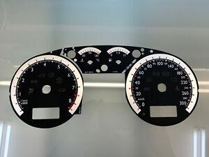 Volkswagen Golf 4, MK4 SPORT FULL FIS 300km/h 8400 RPM dials Tachoscheiben