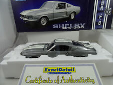 1:18 Exacto Detalle #710-1967 Shelby G. T. 350 Plata 996 Piezas Made - Rareza§