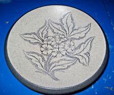 Purbeck Pottery Decorative Dish with Primrose Decoration