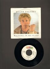 """ROGER DALTREY Walking In My Sleep 7"""" SINGLE Somebody Told Me 1984 THE WHO"""