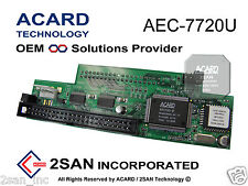 ACARD AEC-7720U Ultra SCSI-to-IDE Bridge Adapter HDD/DVD/CD 50-Pin