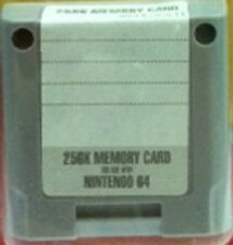 NEW PERFORMANCE 256 K MEMORY CARD PAK LOOSE WITH LABEL