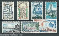 FRANCE - 1966 YT 1480 à 1486 - TIMBRES NEUFS** MNH LUXE